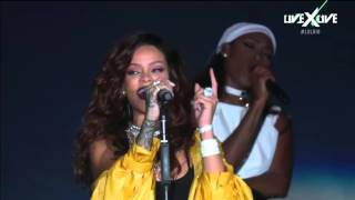 Rihanna - FourFiveSeconds Live At Rock in Rio 2015 - HD