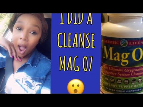 MAG O-7 CLEANSE | FIRST DAY RESULTS | WOW, AMAZING!!