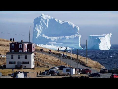 Gran Expectación tras Enorme Iceberg que Apareció en las Costas de Ferryland, Canadá | Abril 2017