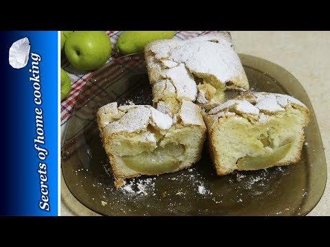 Pear cake recipe – easy recipe