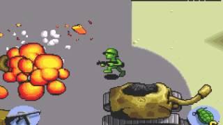 Army Men Advance (GBA) - Vizzed.com GamePlay Mynamescox44 LongPlay (Full Game)