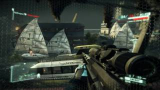 Crysis 2 PC Multiplayer Demo: Sniper Gameplay [1080p]
