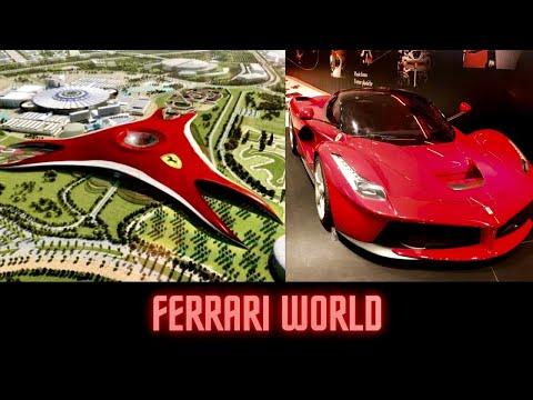 Ferrari World – Abu Dhabi   Ferrari World – Rides