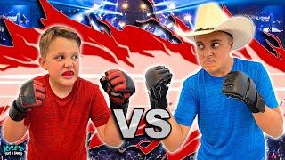Brother VS Brother Super Strength UFC NINJA Challenge!