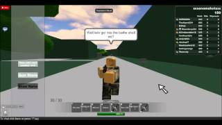 Il mio primo video youtube di Roblox
