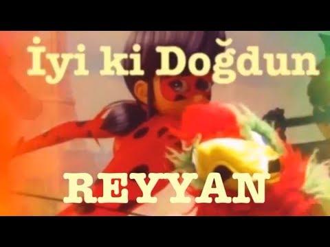 İyi ki Doğdun REYYAN :) Komik Doğum günü Mesajı 1.VERSİYON *happy birthday Reyyan* Made in Turkey :)