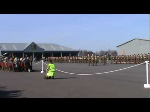 Intake 30 A.F.C. Harrogate Passing Out Parade 28th Feb 2013