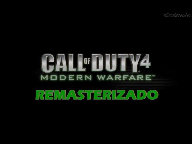 Cod 4 Mw Remasterizado