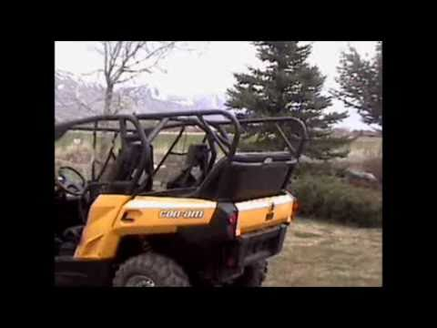 Can-Am Commander Back Seat And Roll Cage Kit