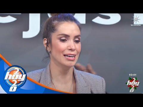 Entre lágirmas, Andrea Escalona envía mensaje a Magda Rodríguez | Hoy