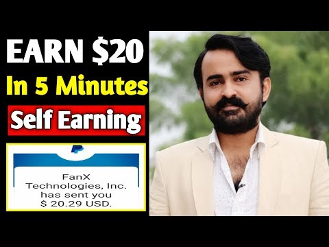 EARN $20 IN 5 MINUTE PAYPAL CASH | EASY WAY TO EARN MONEY ONLINE IN 2019 | HOW TO MAKE MONEY ONLINE