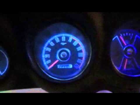 hqdefault mustang led gauge lights youtube Model a Ford Dash Light at bayanpartner.co