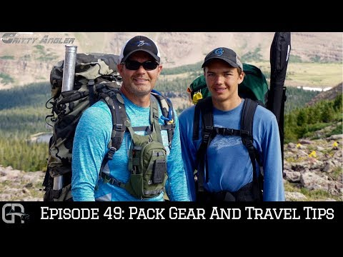 Episode 49: Pack Gear & Travel Tips