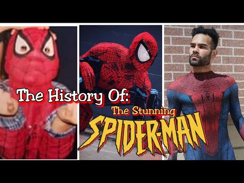 The History Of: The Stunning Spider-Man (Cosplays 1997-2018)