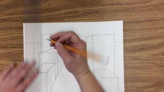 1 Point Perspective Fast Overview