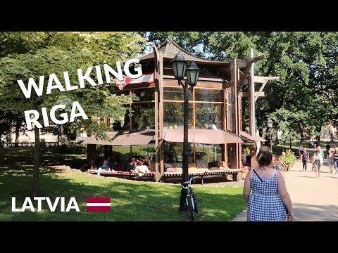 Riga's most BEAUTIFUL spots + Europe's BIGGEST Indoor Market