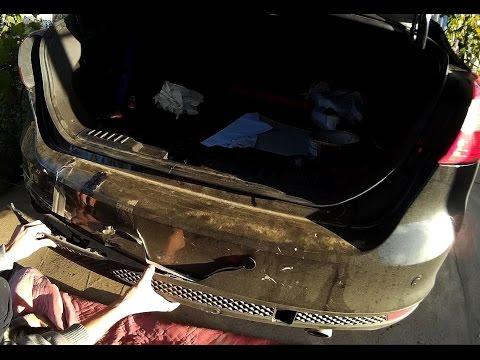 Ford Focus 3 бампер покраска ремонт