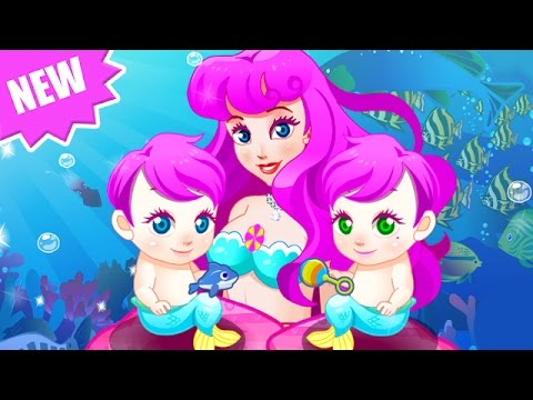 Disney Princess Mermaid - Baby Mermaid Twins - Baby video Games