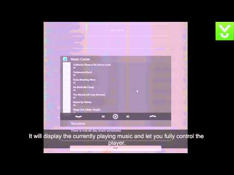 Music Center - Bring your music player to the notification center - Download Video Previews