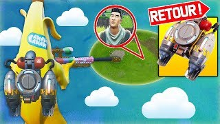 THE 'JETPACK'' CHEATISED IS OF RETOUR ON FORTNITE!