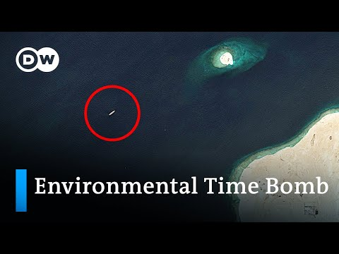Decaying oil tanker may soon cause one of the largest oil spills ever | DW News