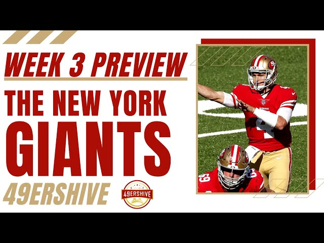 Week 3 Preview: The New York Giants