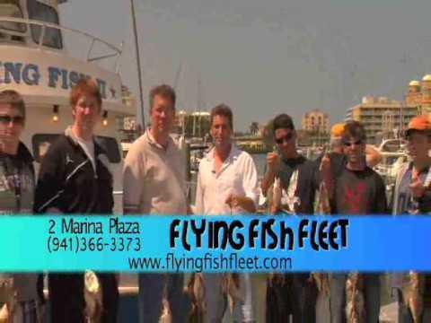 Flying Fish Fleet In Sarasota, FL