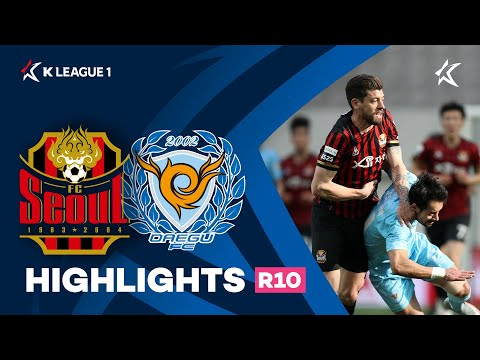 Seoul Daegu Goals And Highlights