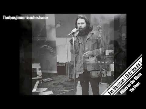 Jim Morrison - Riders on the Storm ( Only Vocals Studio)
