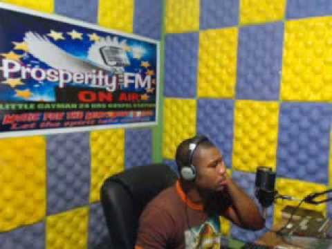 ''PRAISE WITHOUT LIMIT'' 7,02, 2014 ON PROSPERITY FM IN CAYMAN WITH DJ ROBERT