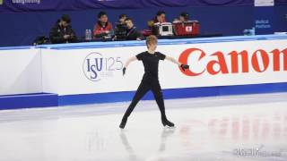 2017 Four Continents (DAY2) Kevin REYNOLDS SP Run Through