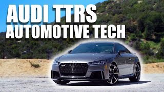 Audi TTRS - The Latest in Automotive Tech