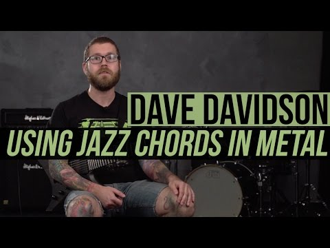 Revocation's Dave Davidson Guitar Lesson - Using Jazz Chords in Metal