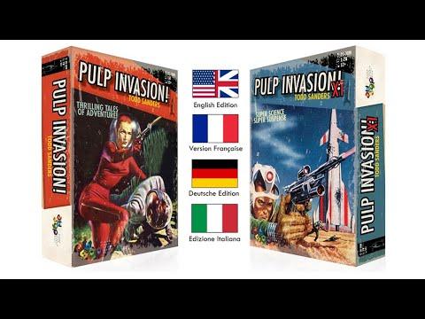 Pulp Invasion teaser English version