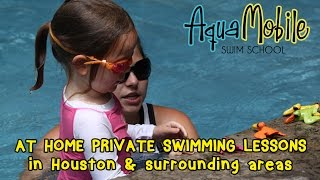 Aquamobile At Home Private Swimming Lessons In Houston