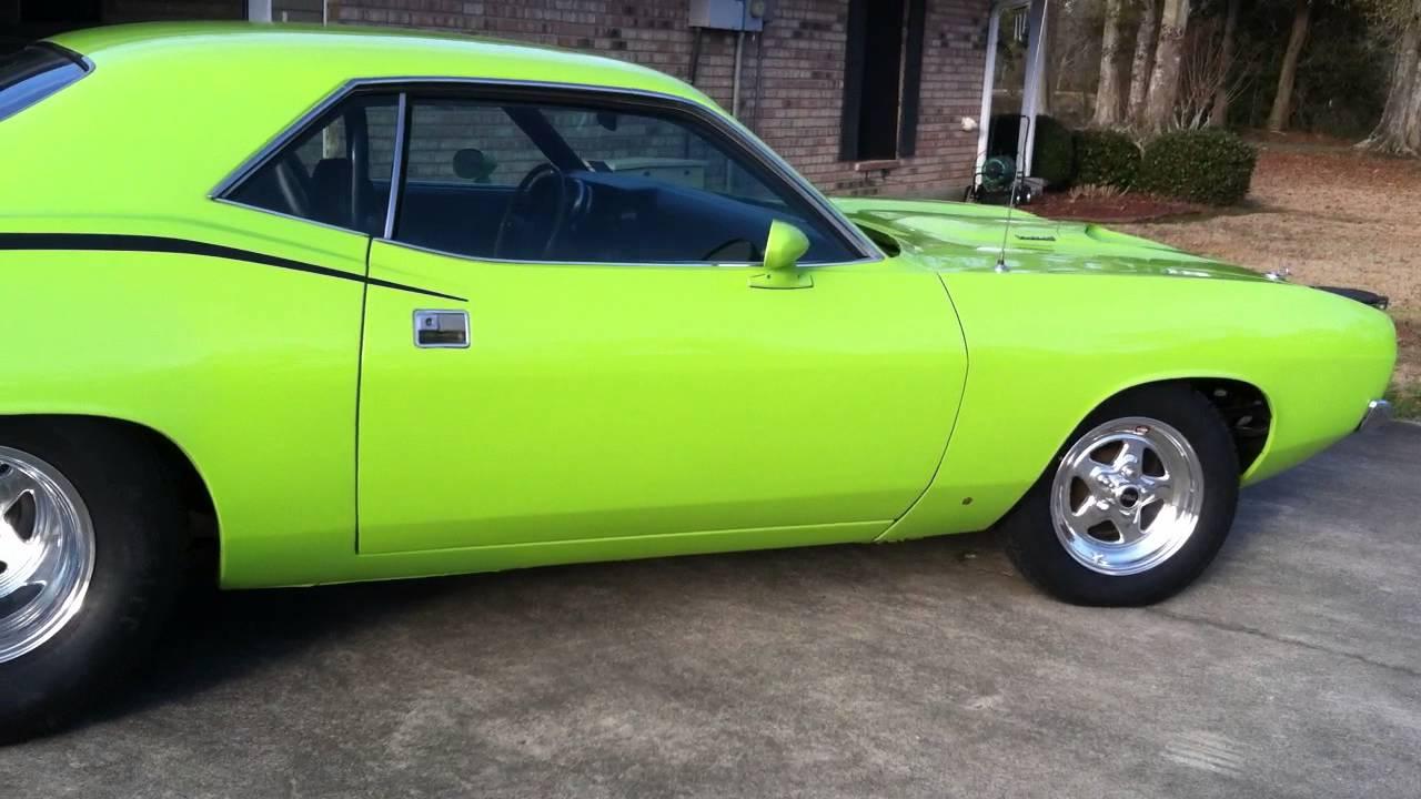 Barracuda Drag Car For Sale