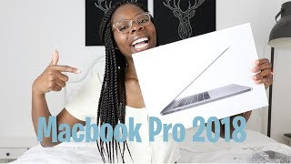 2018 MACBOOK PRO UNBOXING AND SETUP: 2 MONTHS LATER