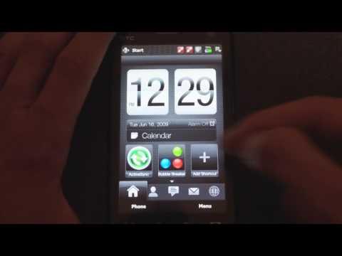 Preview: TouchFLO 3D 2.5 (Manila 2.5)
