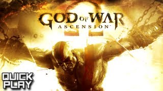 Quick Play - God of War: Ascension - Gameplay and First Impressions! (PS3)