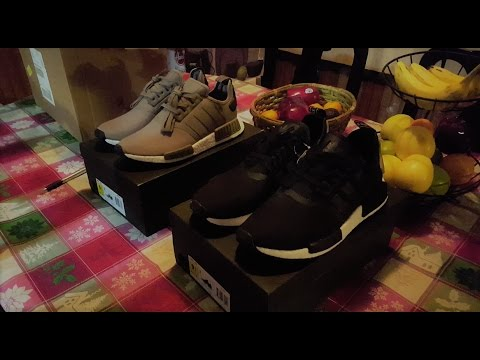 Adidas nmd r1 cargo / nucleo nero revisione!!!su youtube