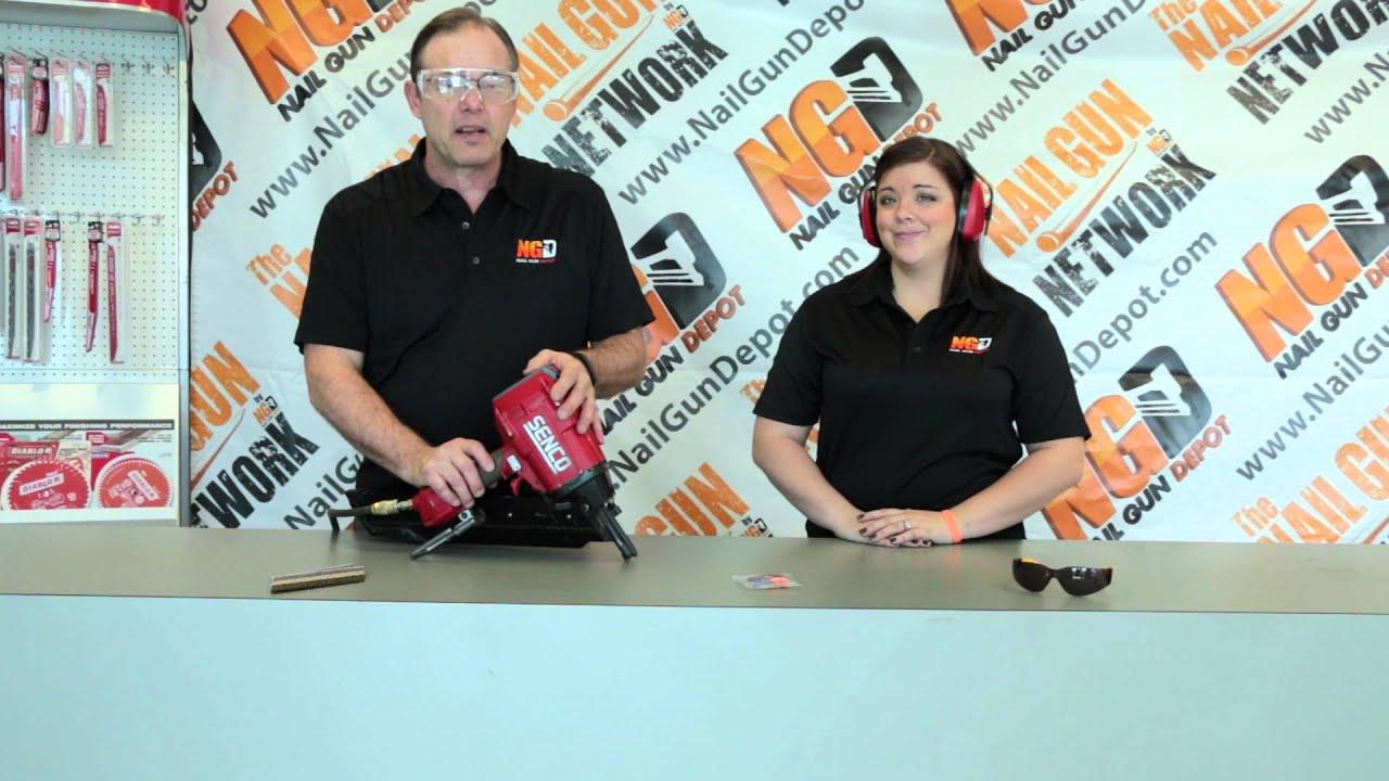 Nail Gun Safety Tips - YouTube