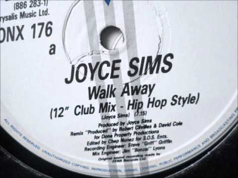 "Joyce Sims  - Walk Away. 1988 (12"" Club mix)"