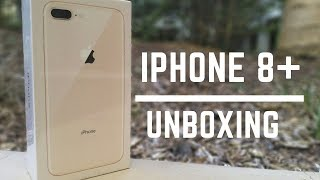 Apple iPhone 8 Plus GOLD Unboxing, Setup & What