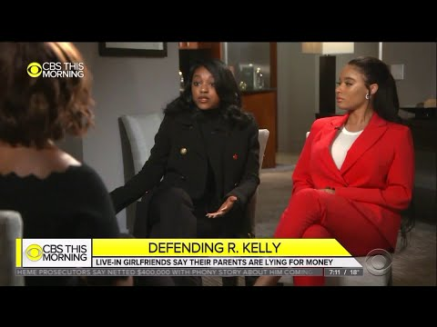 R. Kelly's `girlfriends` speak out in his defense in TV interview Mp3