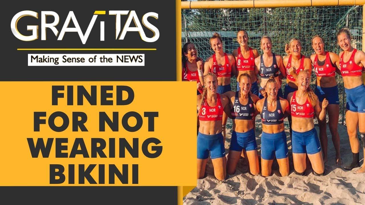 Download Gravitas: Norwegian beach handball team smashes sexism