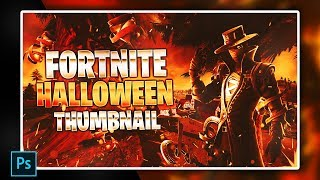 Fortnite Chapter 2 Halloween Thumbnail Template [ + PHOTOSHOP FREE DOWNLOAD ]