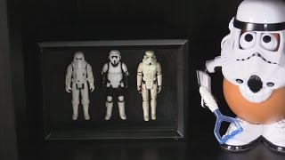Star Wars Action Figure Shadow Box - Quick And Easy Diy Craft Project