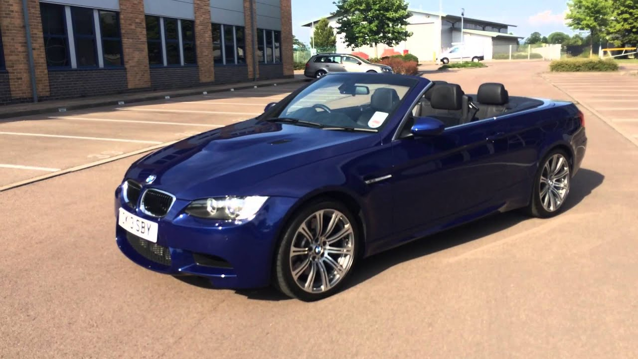 bmw m3 convertible e93 2013 4 200 miles for sale cheltenham uk youtube. Black Bedroom Furniture Sets. Home Design Ideas