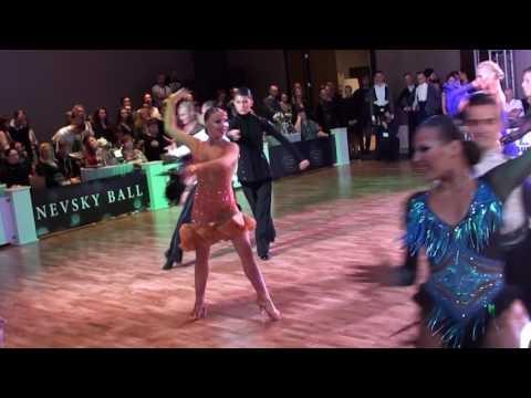 Zugan Oleg - Vinokurova Mira Nevsky Ball Youth-1 Samba