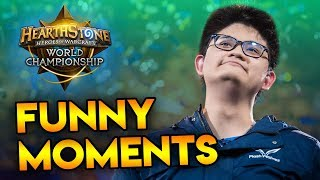 Funny Moments - Hearthstone World Championship 2017
